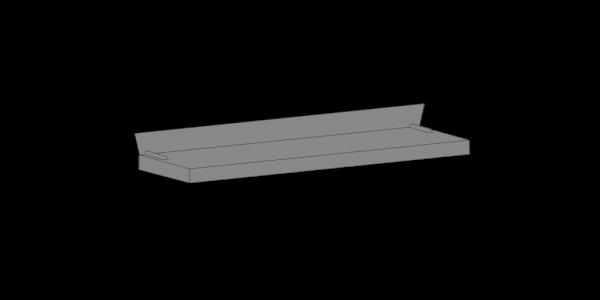 Flat Top Entrance Canopy