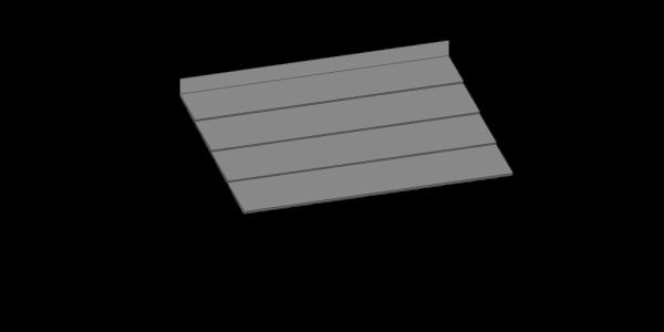 Mono Pitch Entrance Canopy